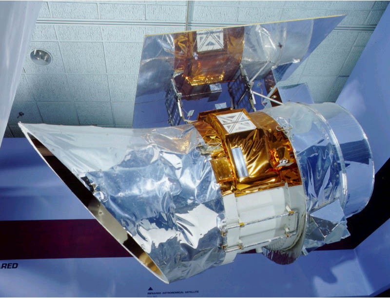 This is the Infrared Astronomical Satellite aka 'IRAS', launched Jan. 1983 & FOUND Planet-X that same year