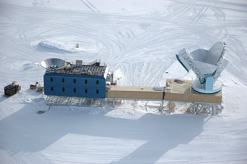 THE SOUTH POLE TELESCOPE-Went Online in late 2007 to Track Planet X's Inbound Perihelion Maneuver